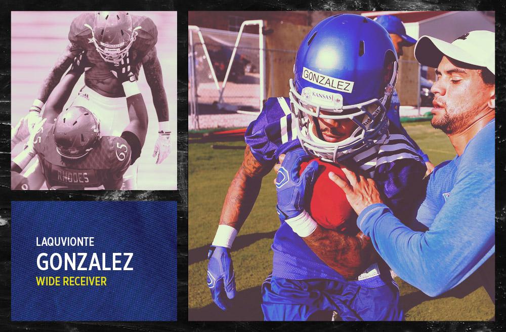 LaQuvionte Gonzalez Card
