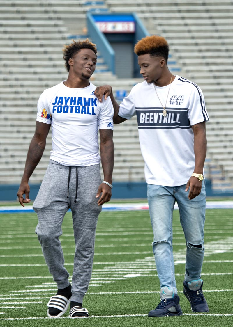 Derrick and Erick