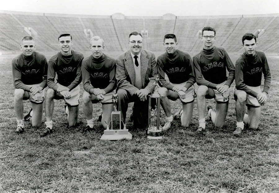 1953 National Champion Men's Cross Country Team