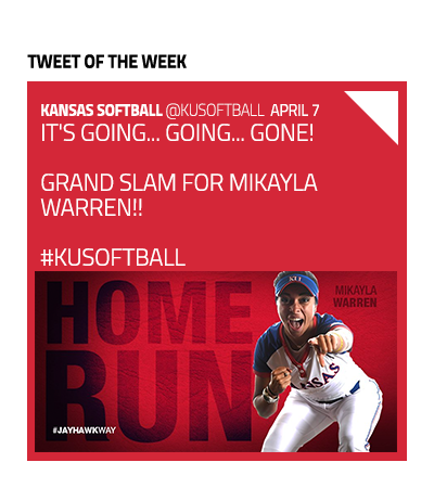 Softball Tweet of the Week