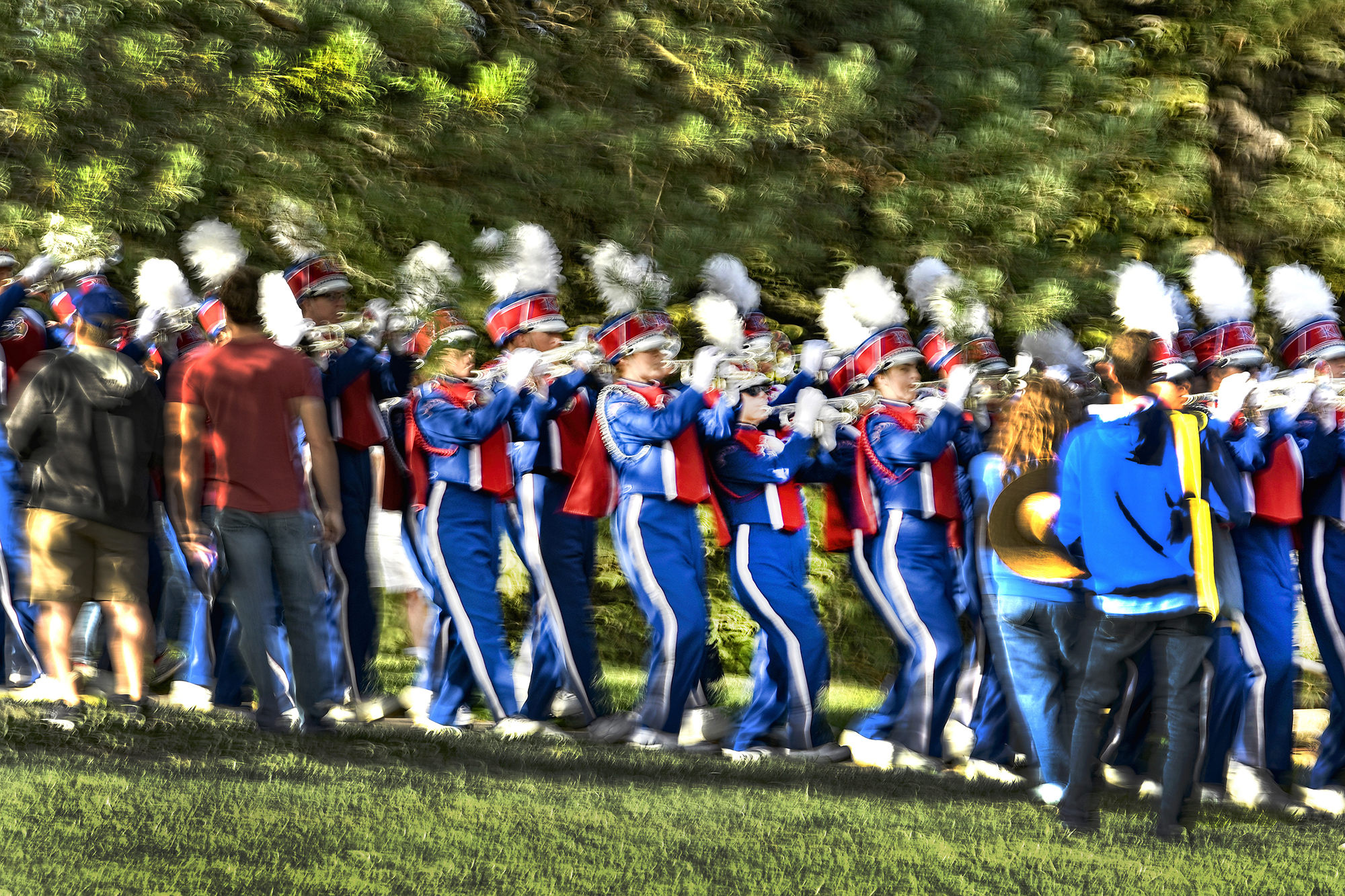 The Marching Jayhawks
