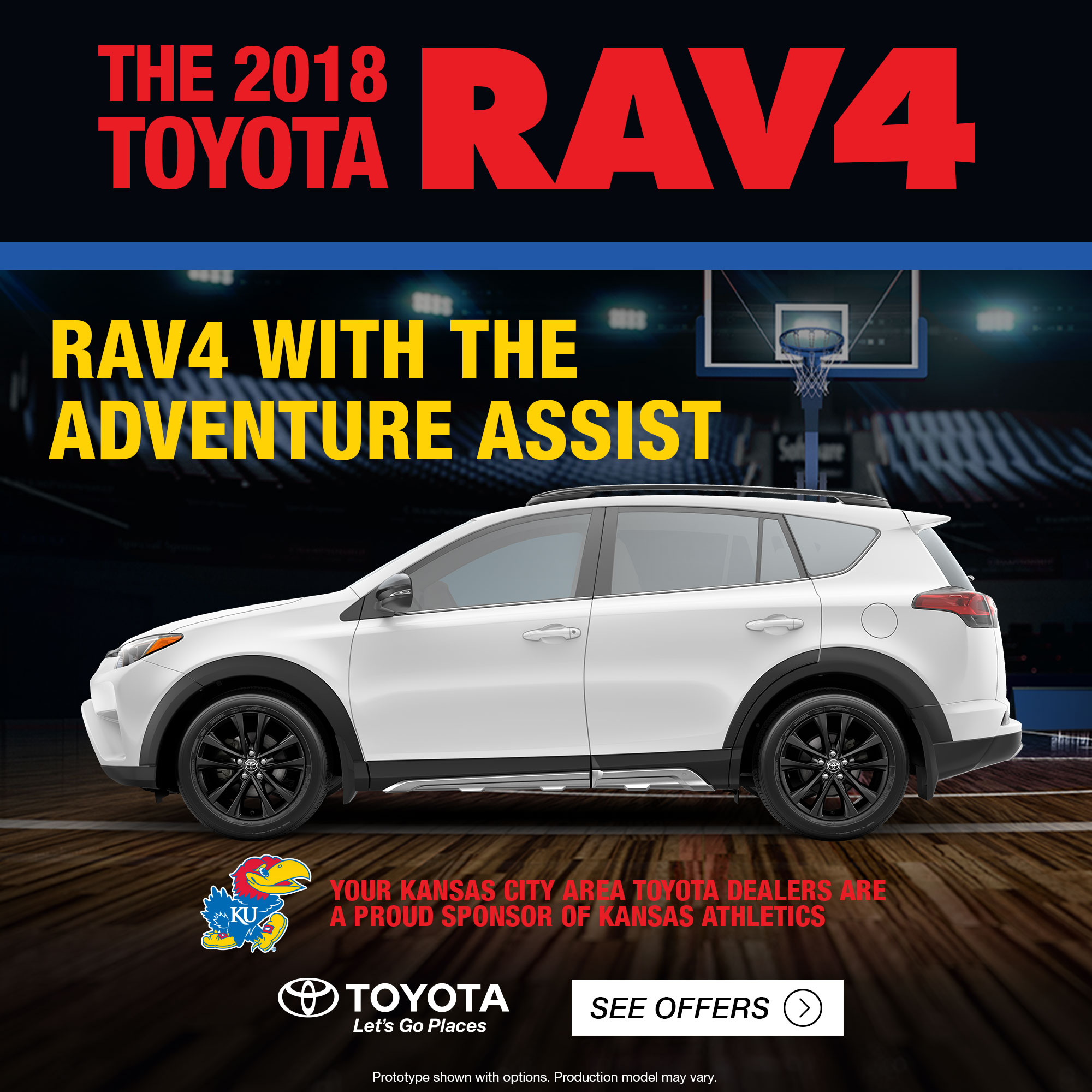 RCW A Mothers Dream University Of Kansas Athletics - Toyota dealers in kansas