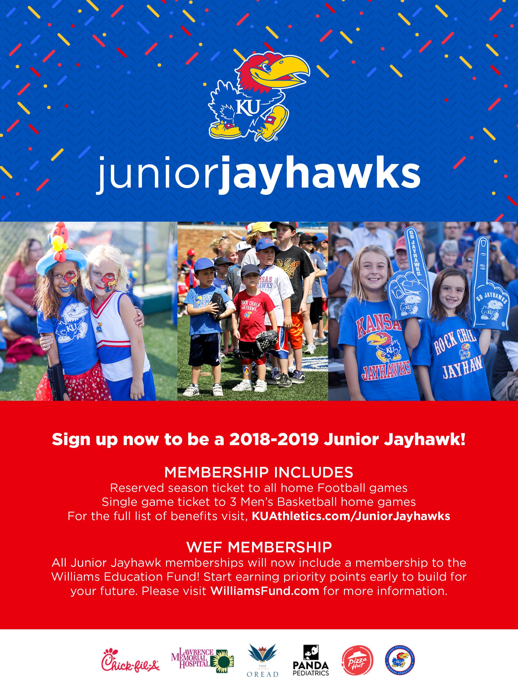 jr. jayhawks