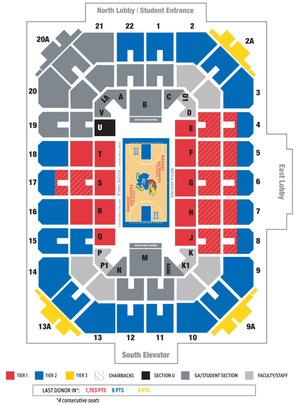 Allen fieldhouse tickets for less kansas jayhawks blog